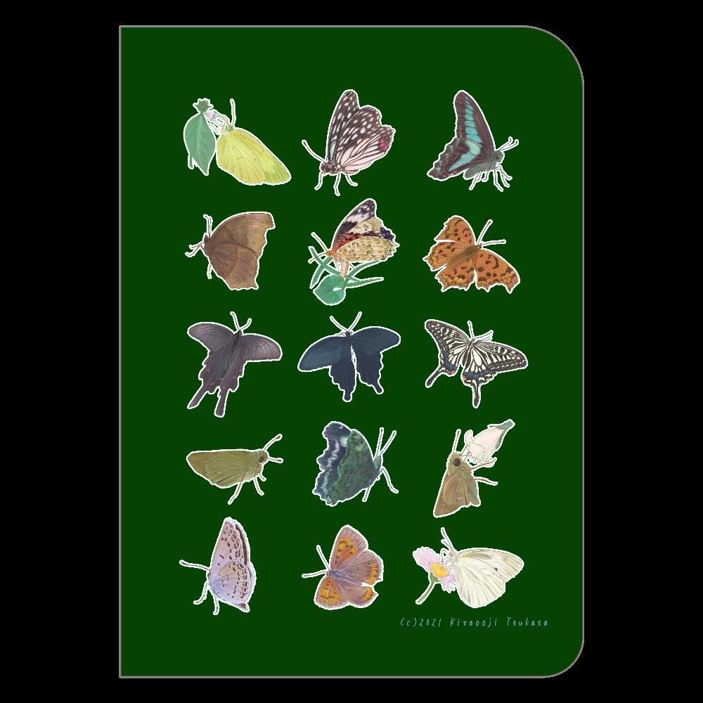 蝶のおもいで ハードカバーポケットノート