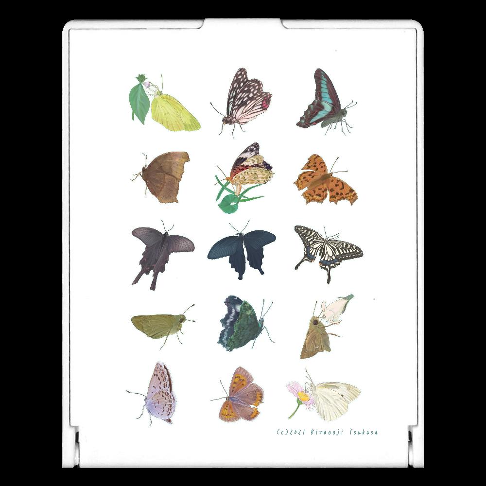 蝶のおもいで スクエアミラー
