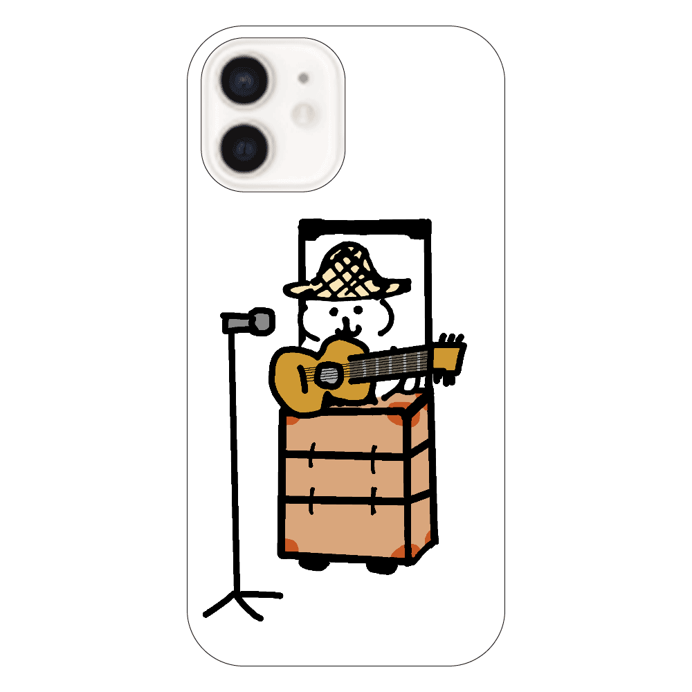 ねこみたいないぬ 演奏iPhone12(ホワイト) iPhone12