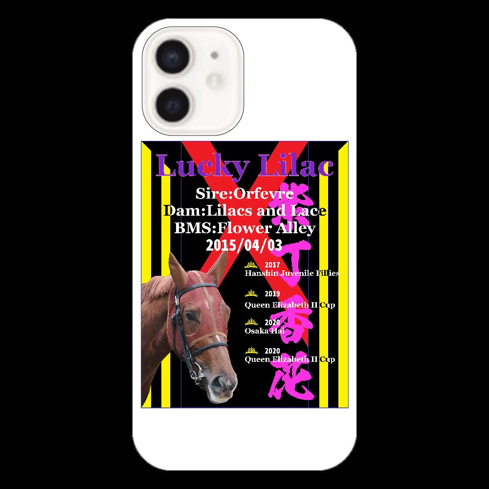 ラッキーライラック引退記念スマホケース iPhone12 iPhone12