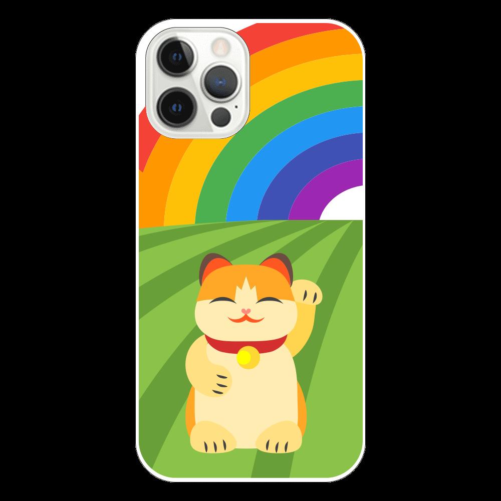 福をまねきたい表面のみ印刷iPhone12 Pro(透明) iPhone12 Pro(透明)