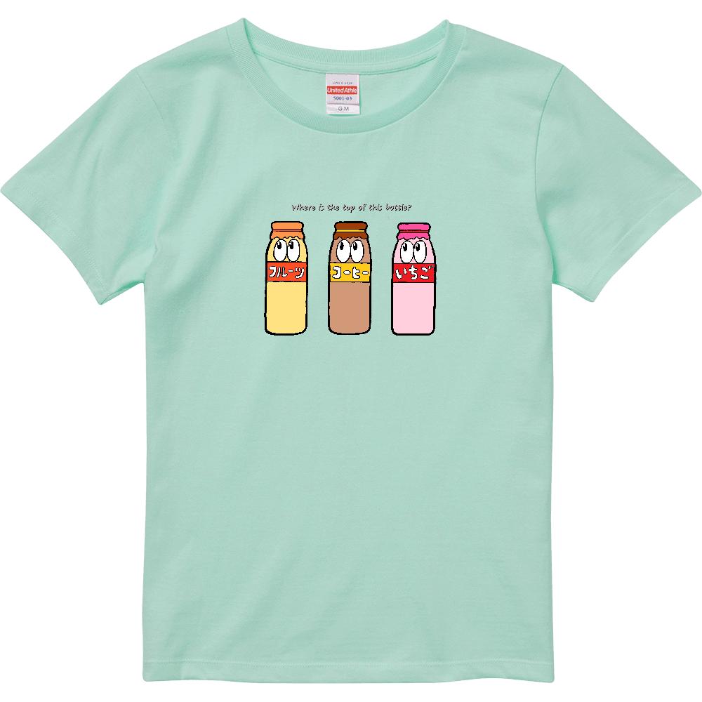牛乳/モンスター ハイクオリティーTシャツ(ガールズ)