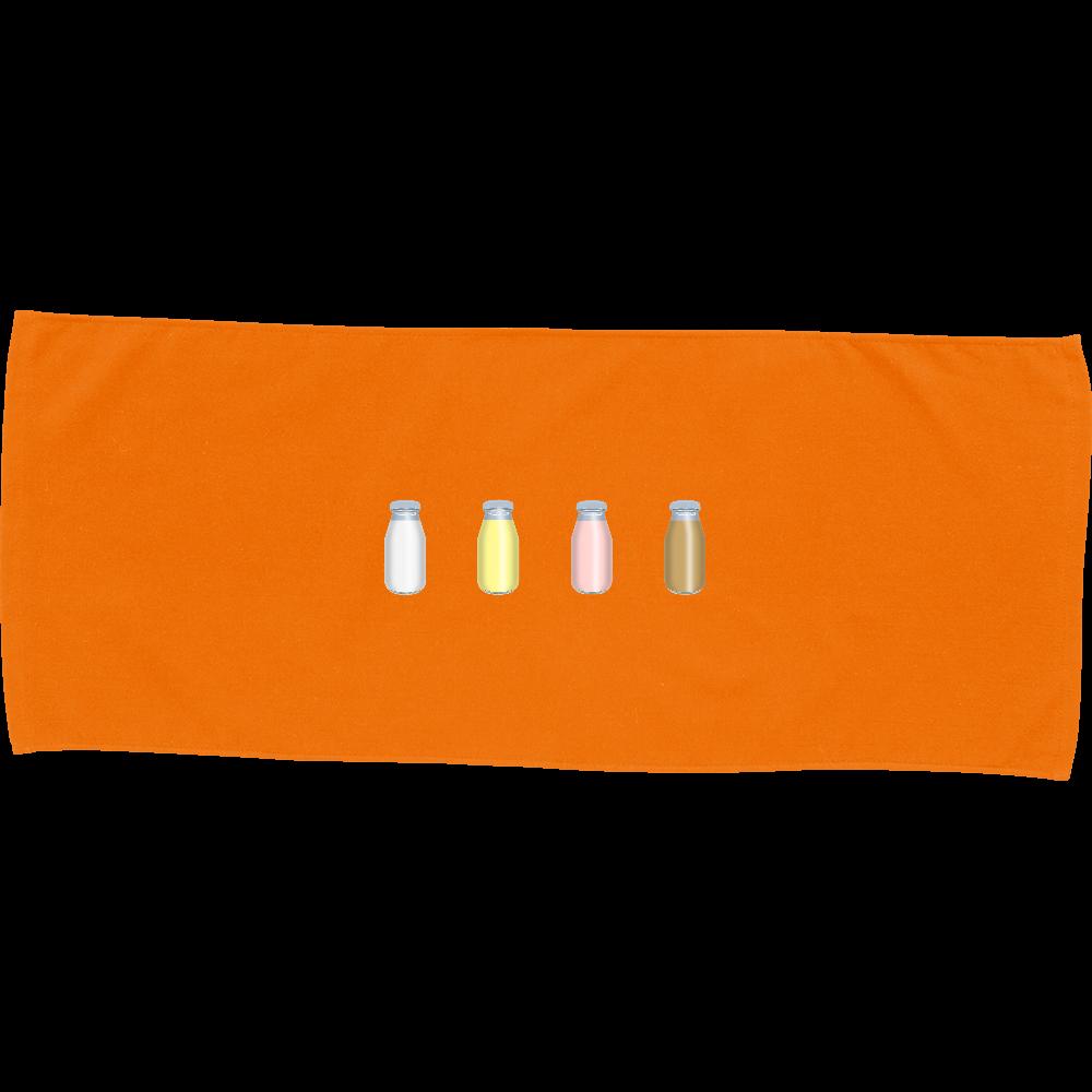 牛乳達-プレーンバージョン タオル カラーフェイスタオル