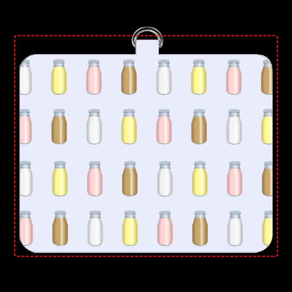 牛乳達-プレーンバージョン パスケース パスケース
