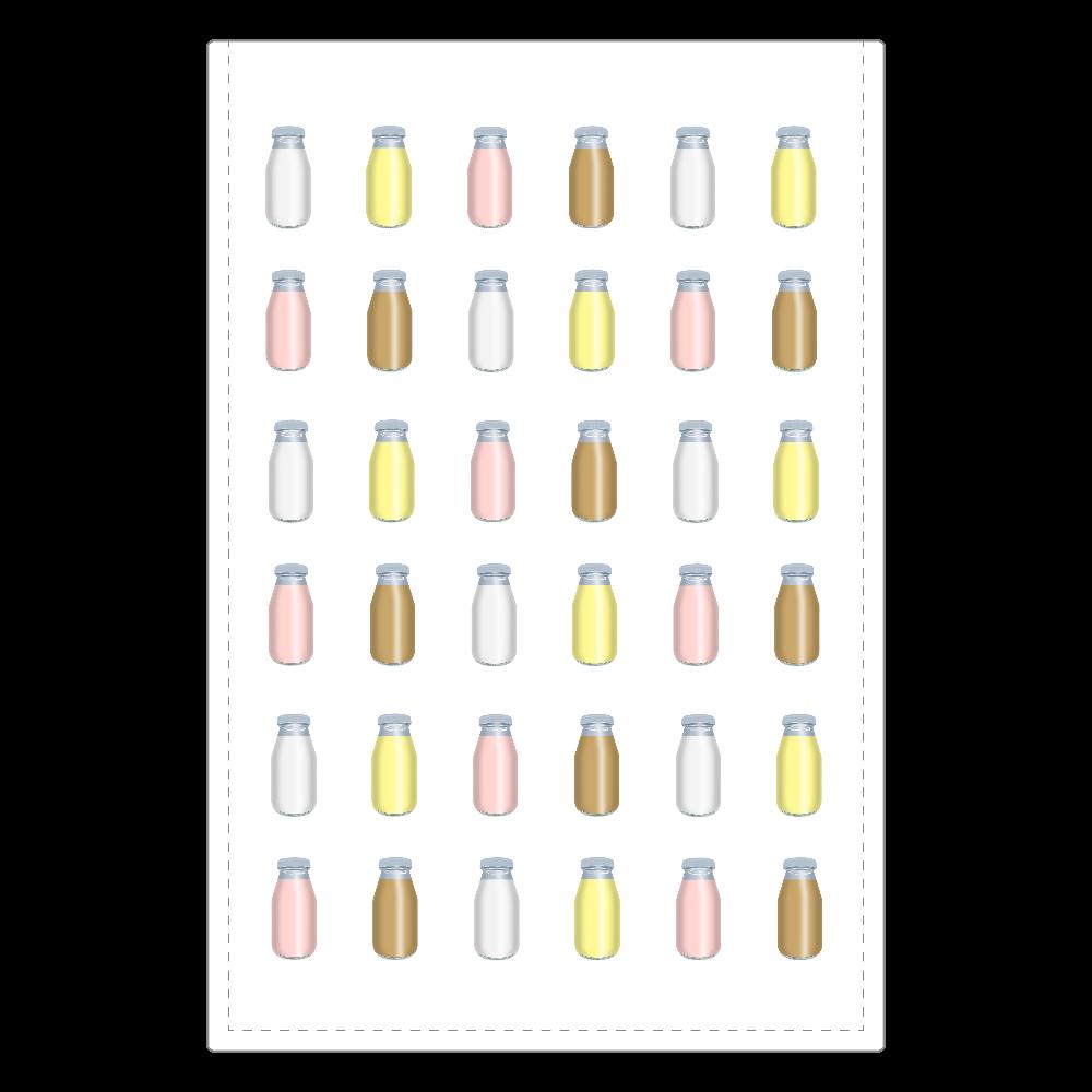 牛乳達-プレーンバージョン ミラー ソフトレザーミラー