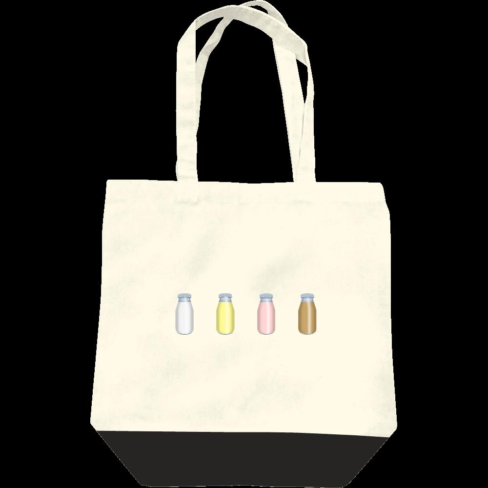 牛乳達-プレーンバージョン トートバッグ レギュラーキャンバストートバッグ(M)