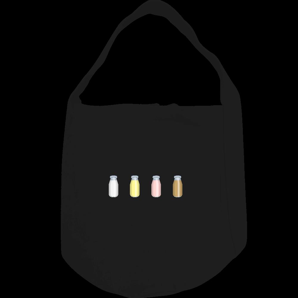 牛乳達-プレーンバージョン ショルダーバッグ ヘヴィーキャンバス ワンショルダーバッグ
