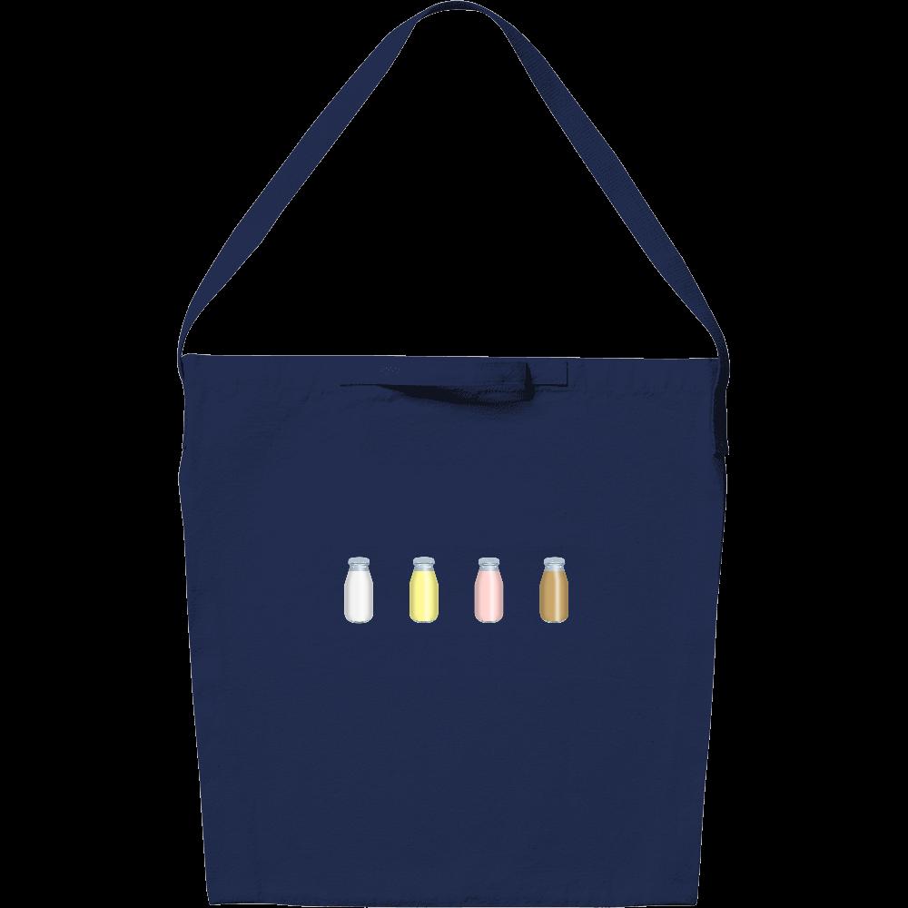 牛乳達-プレーンバージョン ショルダーバッグ キャンバスショルダーバッグ
