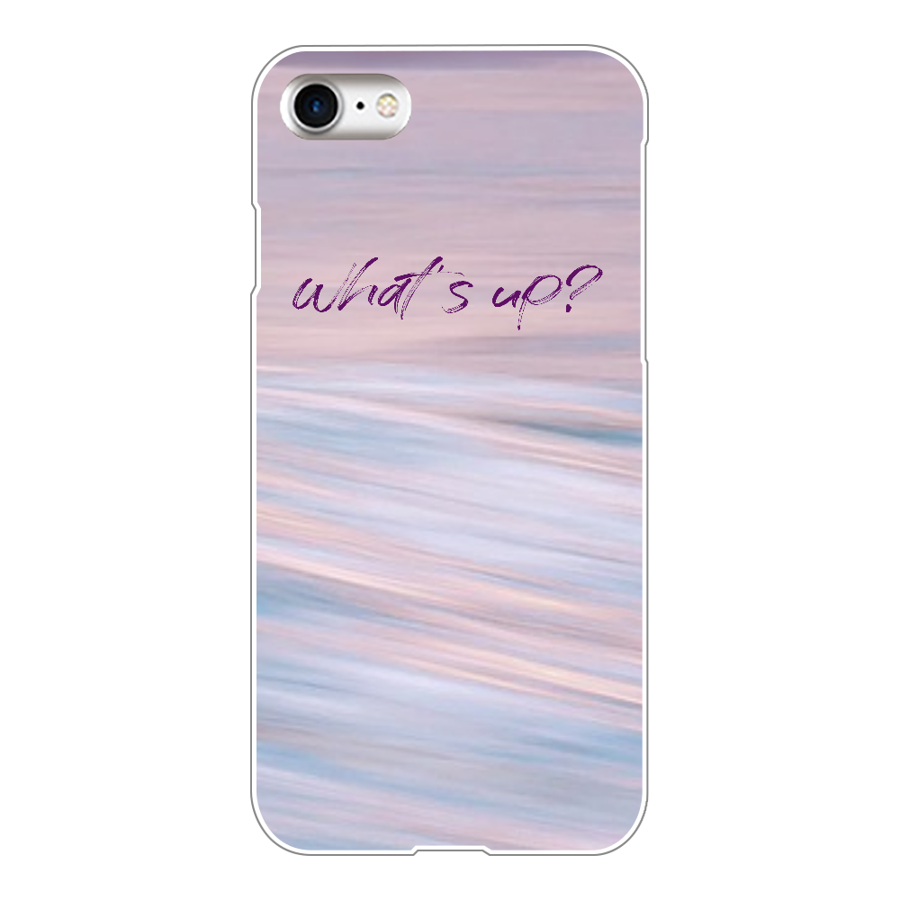 What's up(iPhone8) iPhone8(透明)