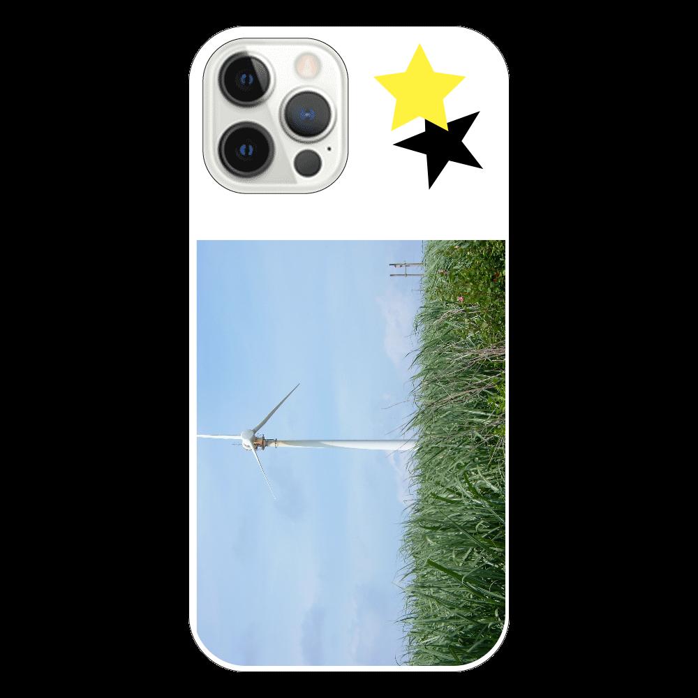 さとうきび畑と風車 iPhone12 Pro iPhone12 Pro(透明)