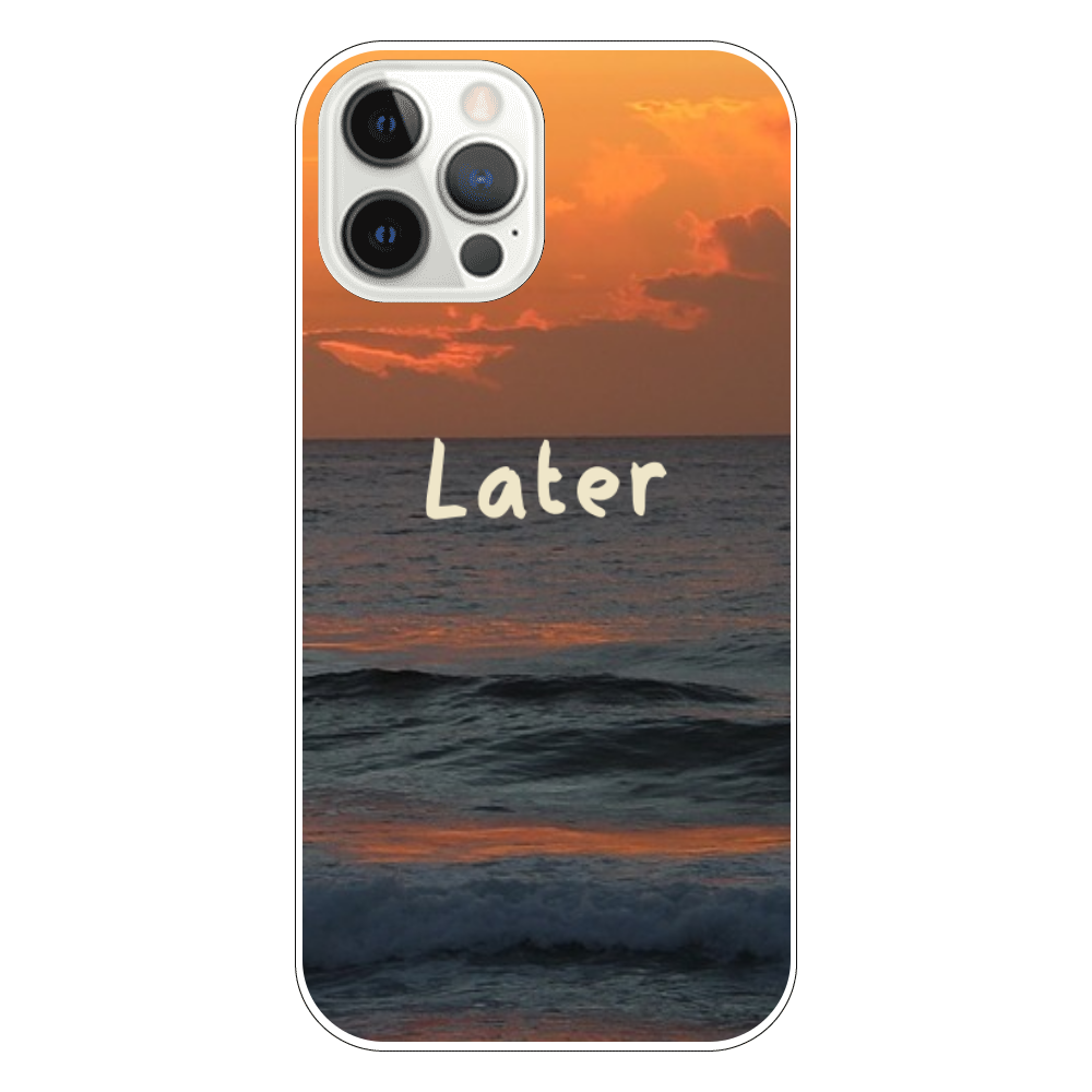 Later(iPhone12) iPhone12 Pro(透明)