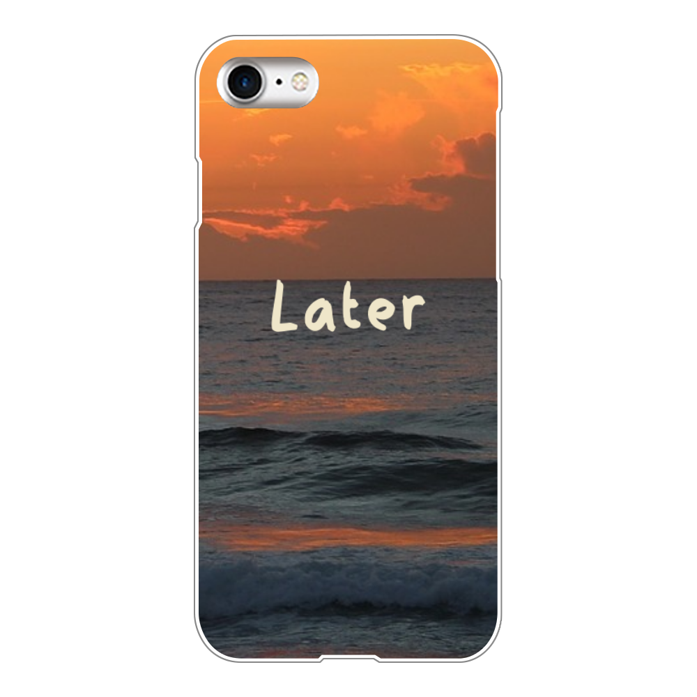 Later(iPhone8) iPhone8(透明)