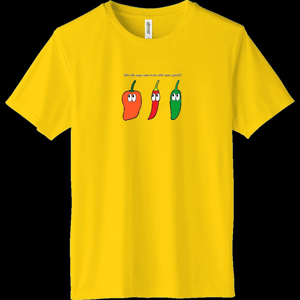 唐辛子/モンスター インターロックドライTシャツ