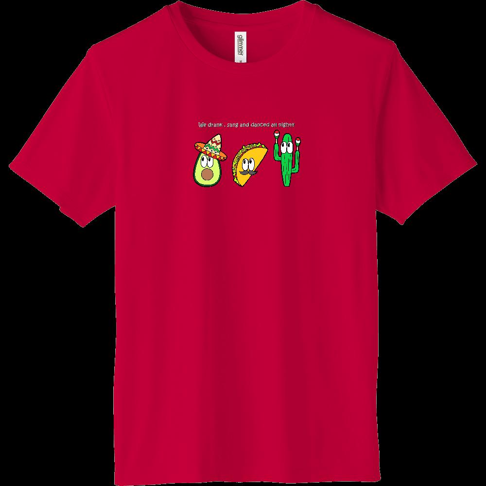 メキシコ/モンスター インターロックドライTシャツ
