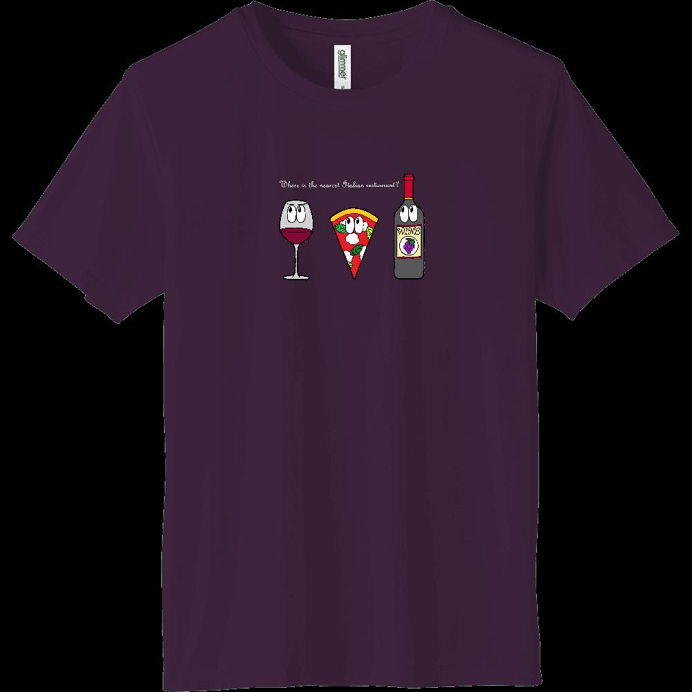 ピザ/モンスター インターロックドライTシャツ