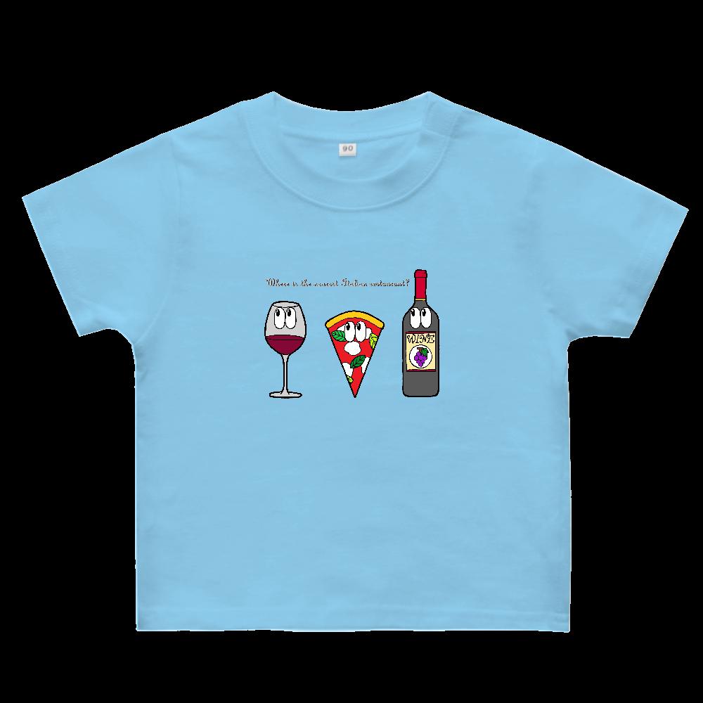 ピザ/モンスター ヘビーウェイトベビーTシャツ