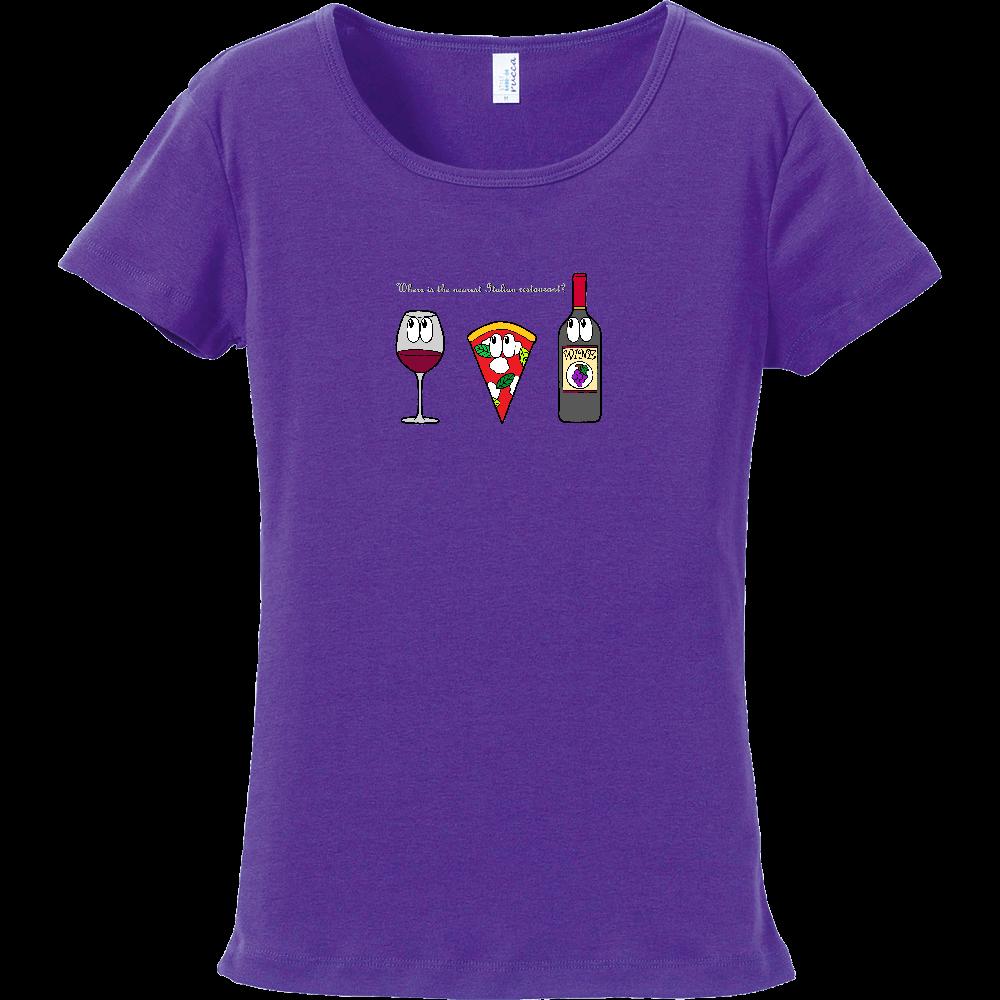 ピザ/モンスター フライスTシャツ