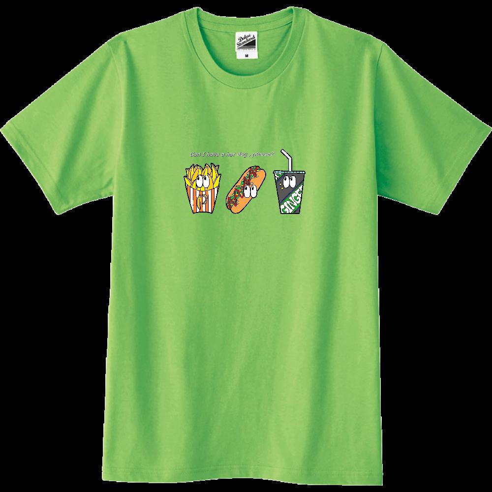 ファストフード/カラー スリムTシャツ