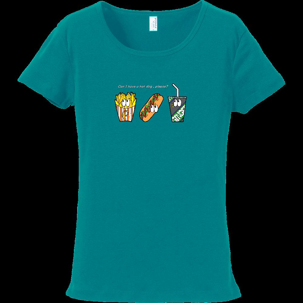 ファストフード/カラー フライスTシャツ