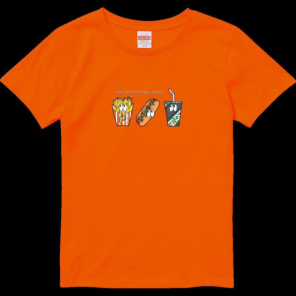 ファストフード/カラー ハイクオリティーTシャツ(ガールズ)