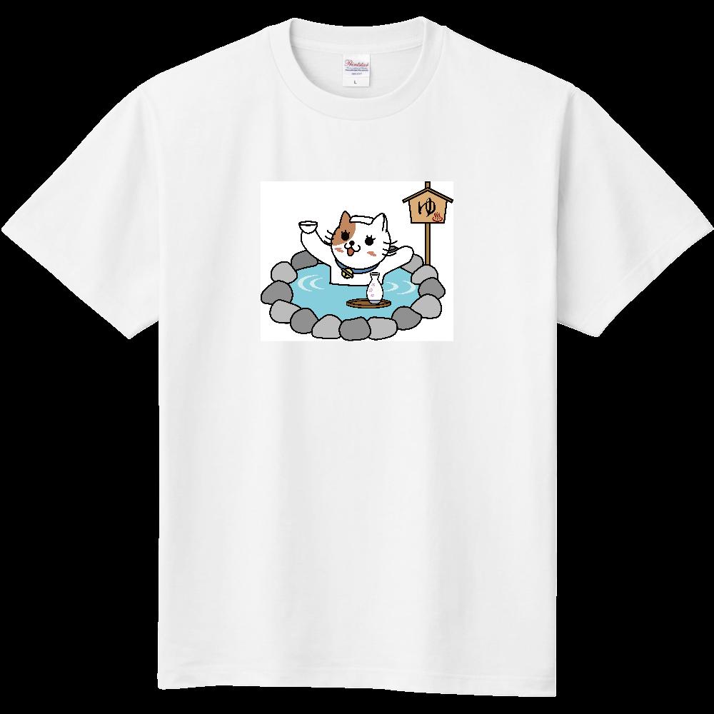 温泉にゃんこ 定番Tシャツ