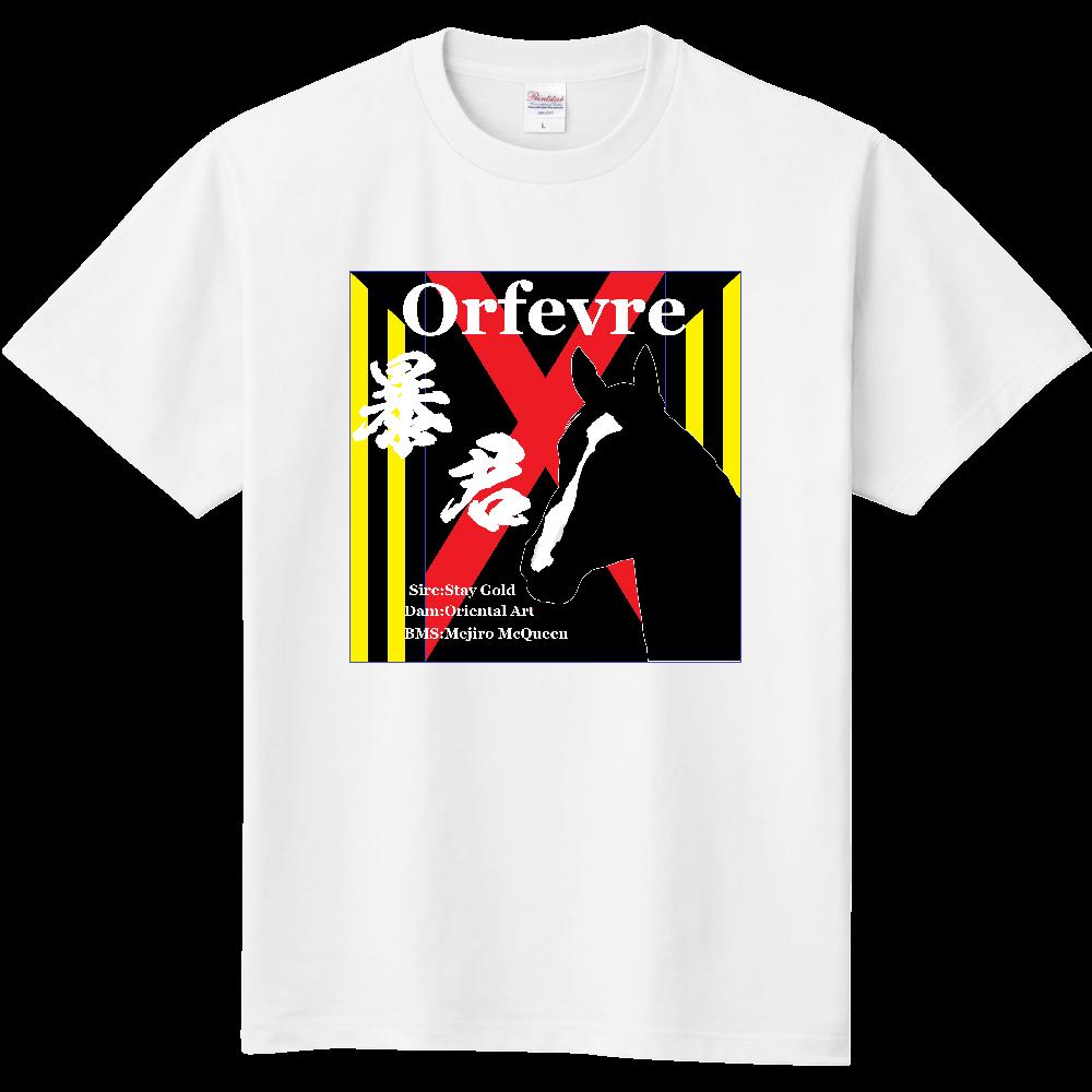 暴君 オルフェーヴル 胸面イラスト Tシャツ 定番Tシャツ