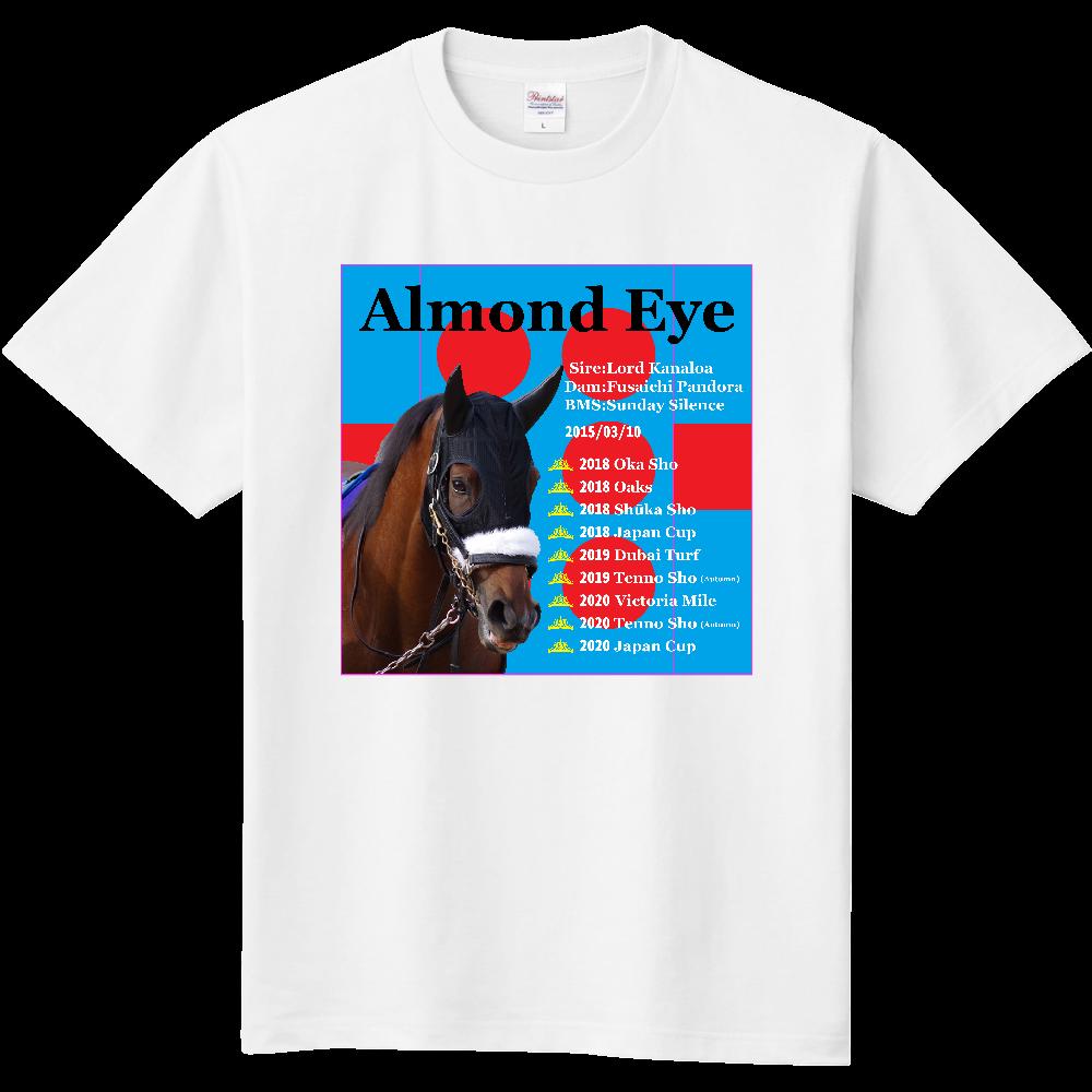 アーモンドアイ 引退記念バージョン2 胸面イラスト Tシャツ 定番Tシャツ