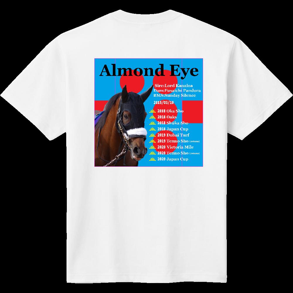 アーモンドアイ 引退記念バージョン2 背面イラスト Tシャツ 定番Tシャツ
