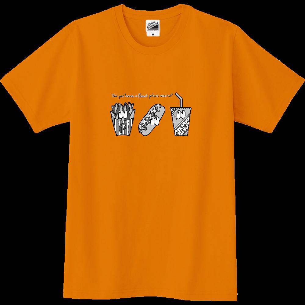 ファストフード/モノクロ スリムTシャツ