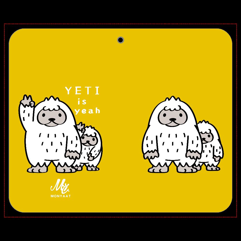 CT94 YETI is yeah A 帯なし手帳ケース(汎用マルチスライド式パーツ)L