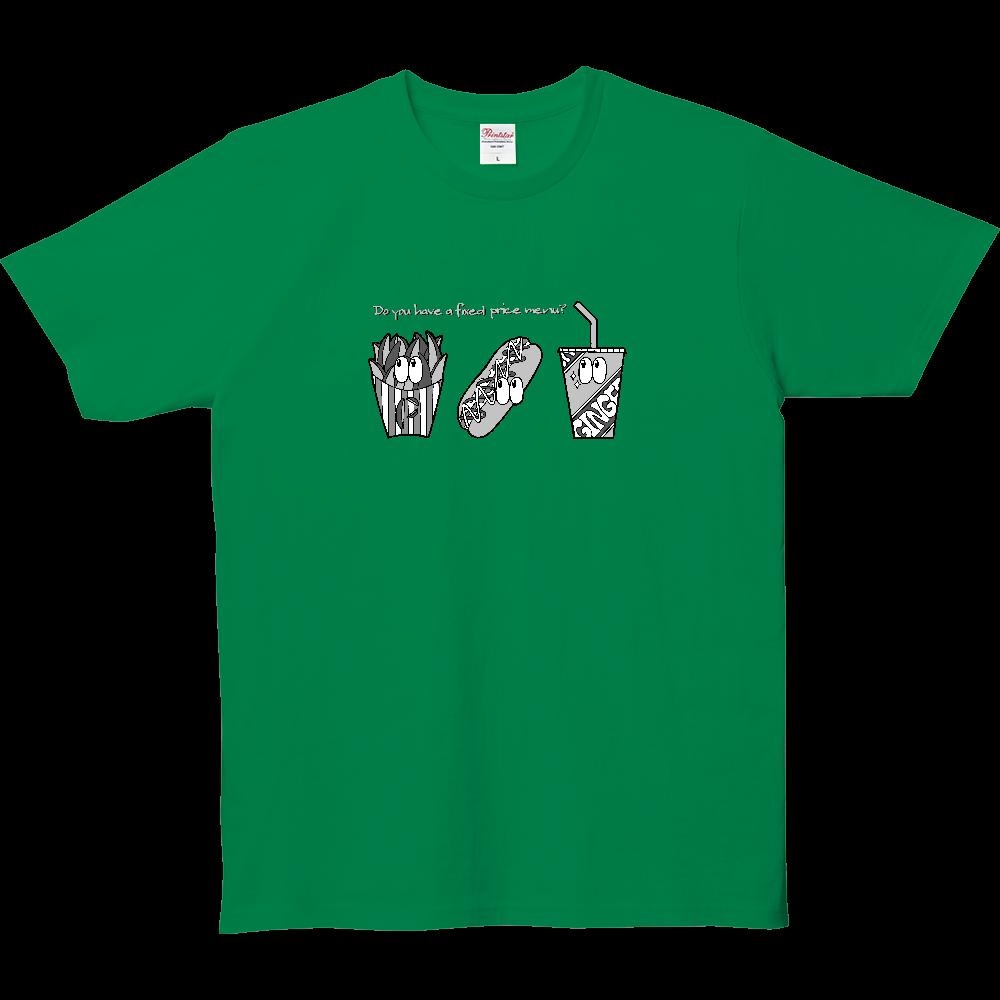 ファストフード/モノクロ 5.0オンス ベーシックTシャツ(キッズ)