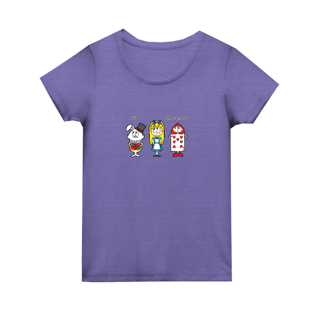 アリス/フラワーガーデン トライブレンド ウィメンズ Tシャツ