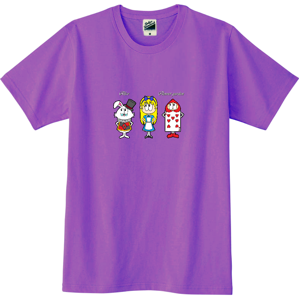 アリス/フラワーガーデン スリムTシャツ