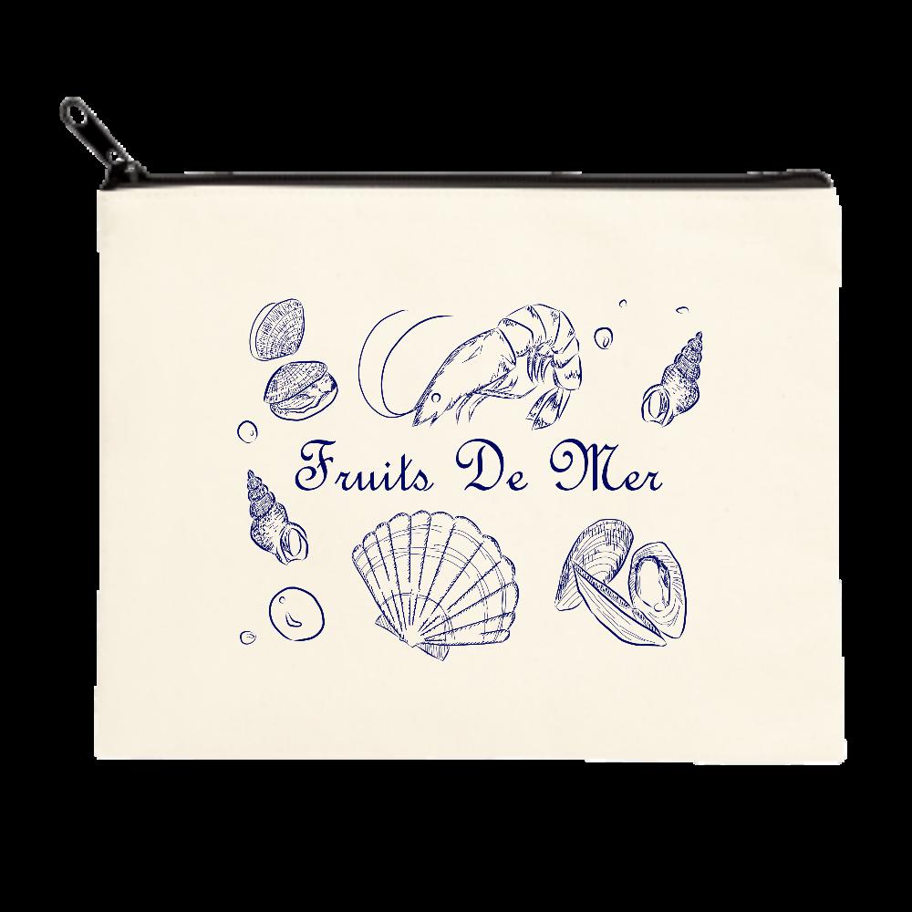 Fruits De Mer ポーチ(M) ポーチ(M)