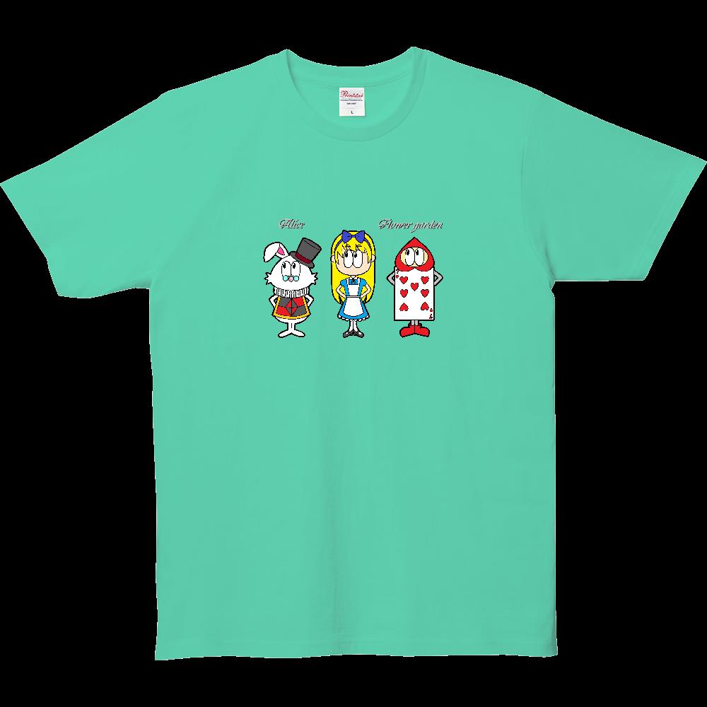 アリス/フラワーガーデン 5.0オンス ベーシックTシャツ(キッズ)