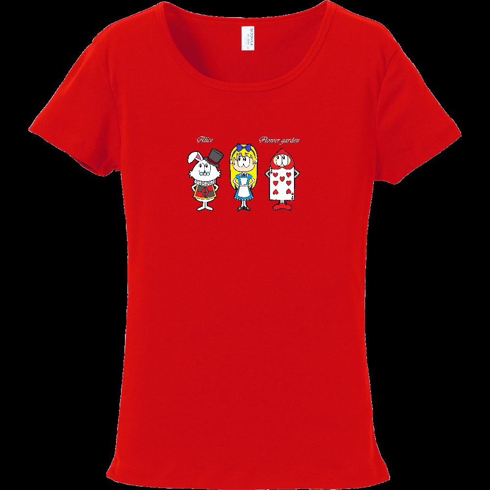 アリス/フラワーガーデン フライスTシャツ