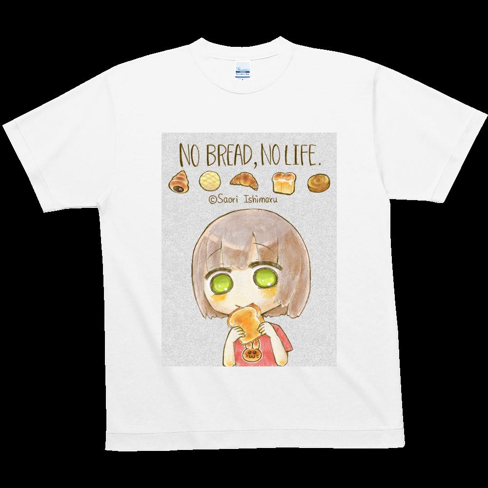 No Bread,No Life. 不透明版 ハニカムメッシュTシャツ