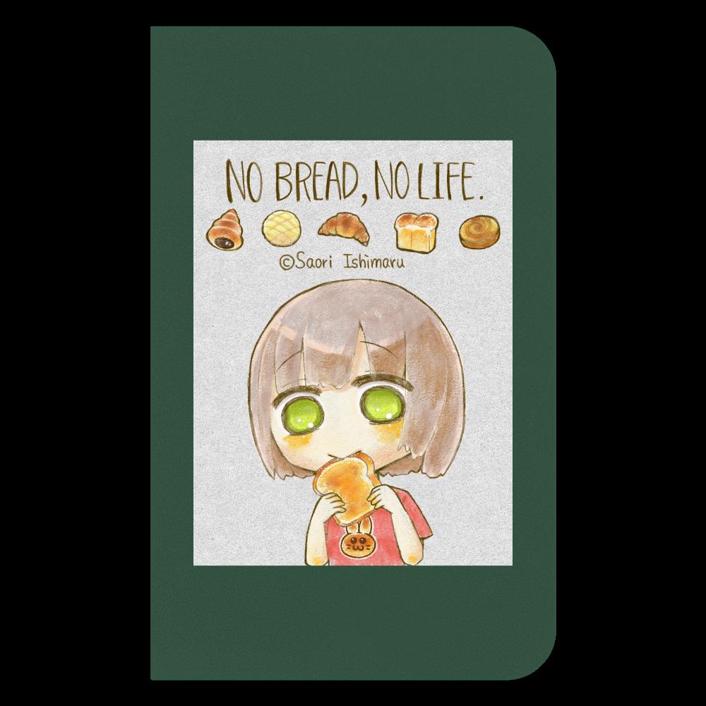 No Bread,No Life. 不透明版 ハードカバーミニノート(罫線)