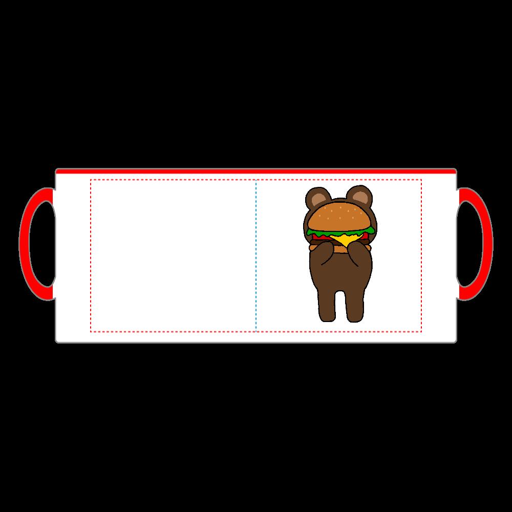 shy bear 2トーンマグカップ