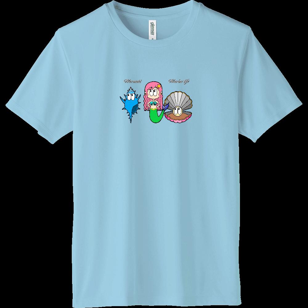 マーメイド/マリンライフ インターロックドライTシャツ
