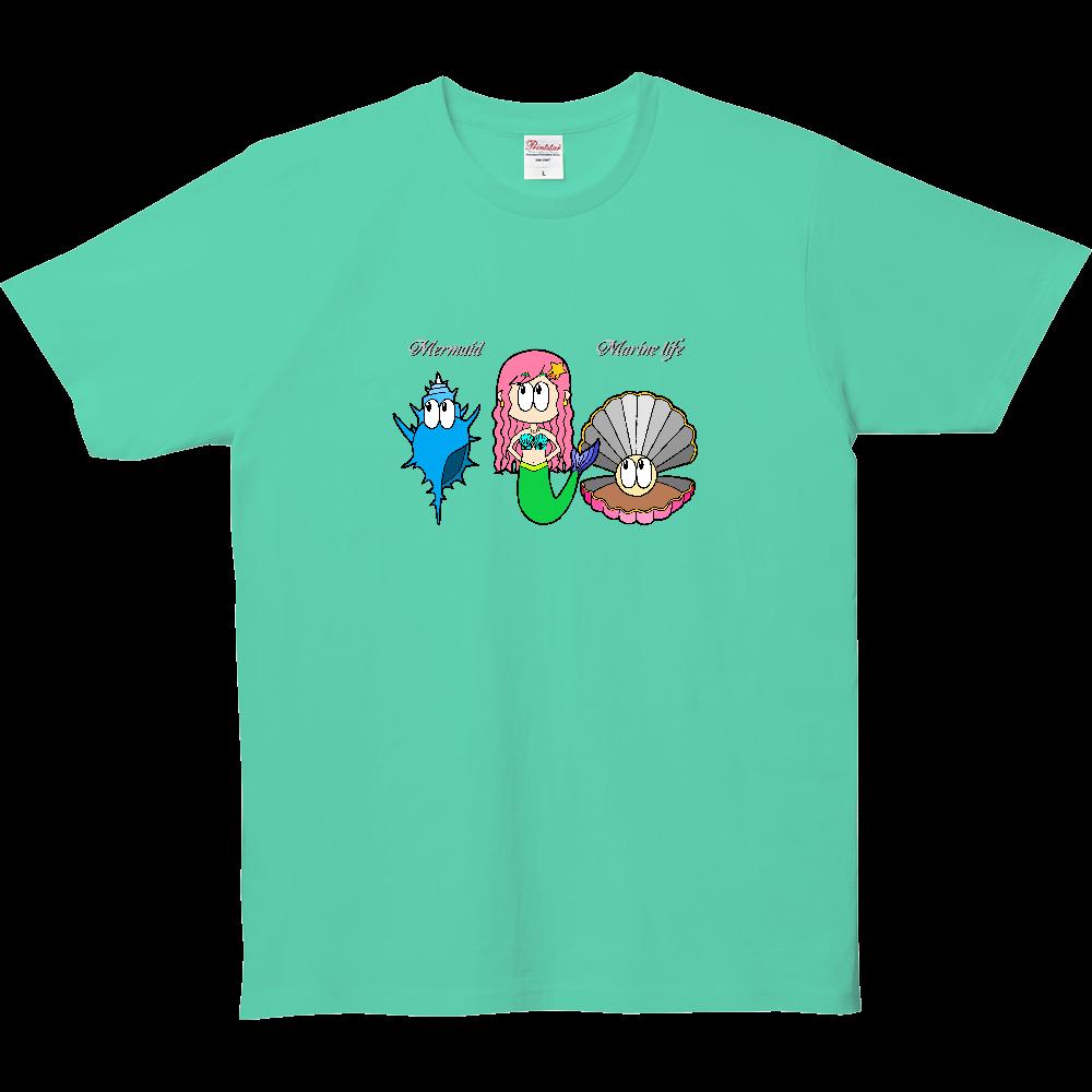 マーメイド/マリンライフ 5.0オンス ベーシックTシャツ(キッズ)