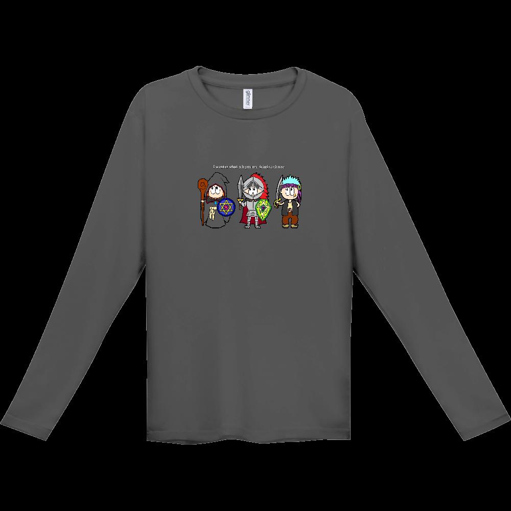 ゲーム/RPG インターロック ドライ長袖Tシャツ