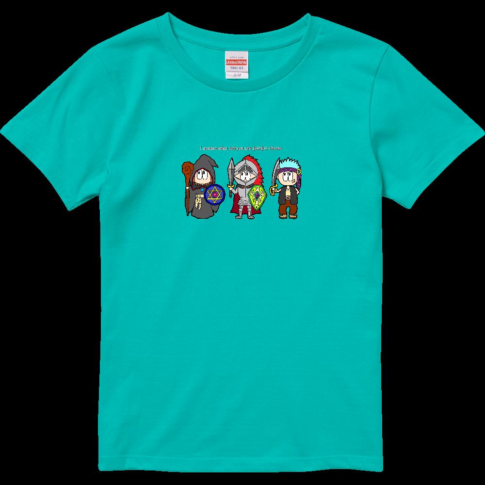 ゲーム/RPG ハイクオリティーTシャツ(ガールズ)