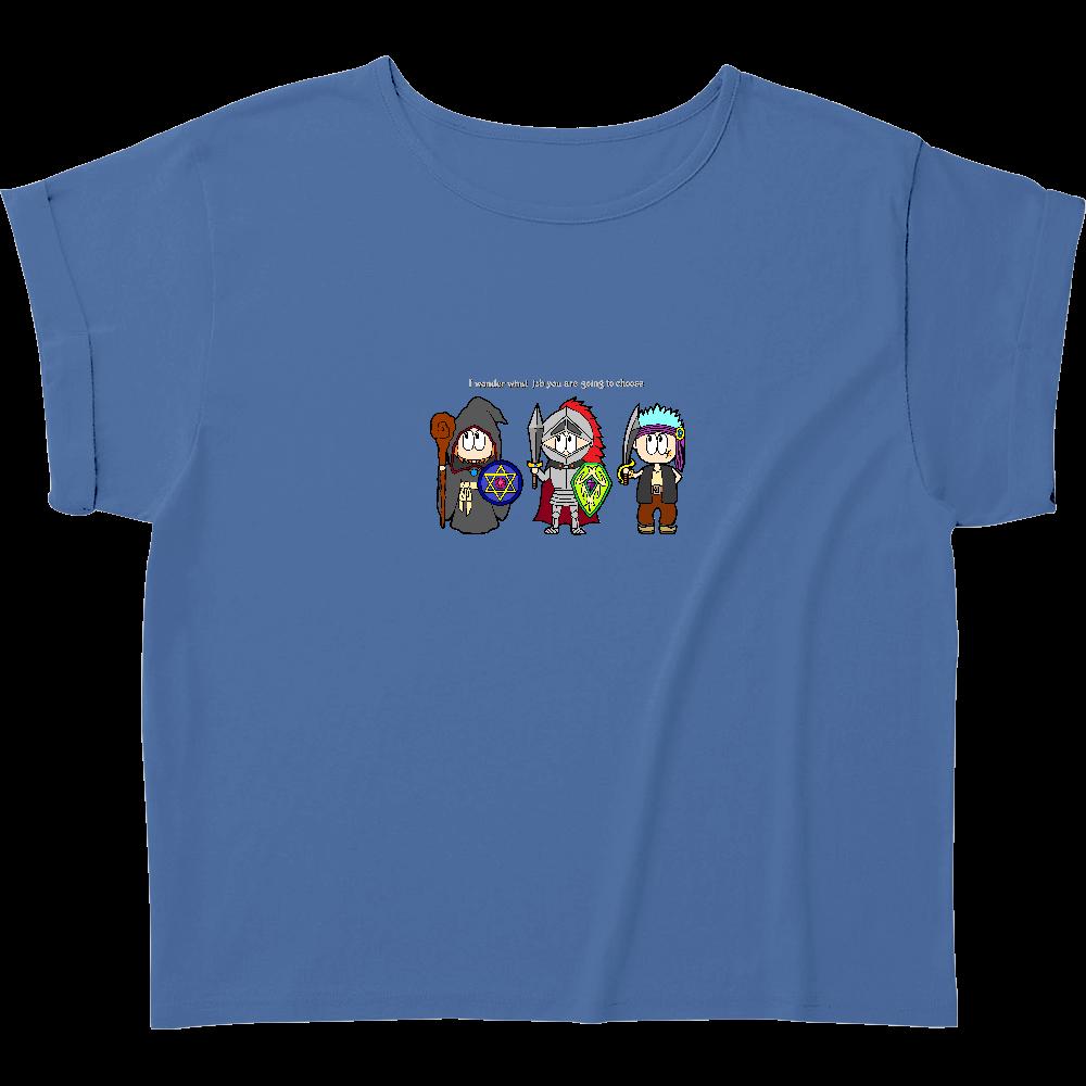 ゲーム/RPG ウィメンズ ロールアップ Tシャツ