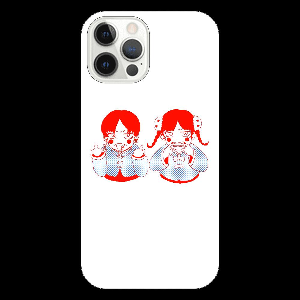 チャイナ兄妹 iPhone12 Pro(透明)