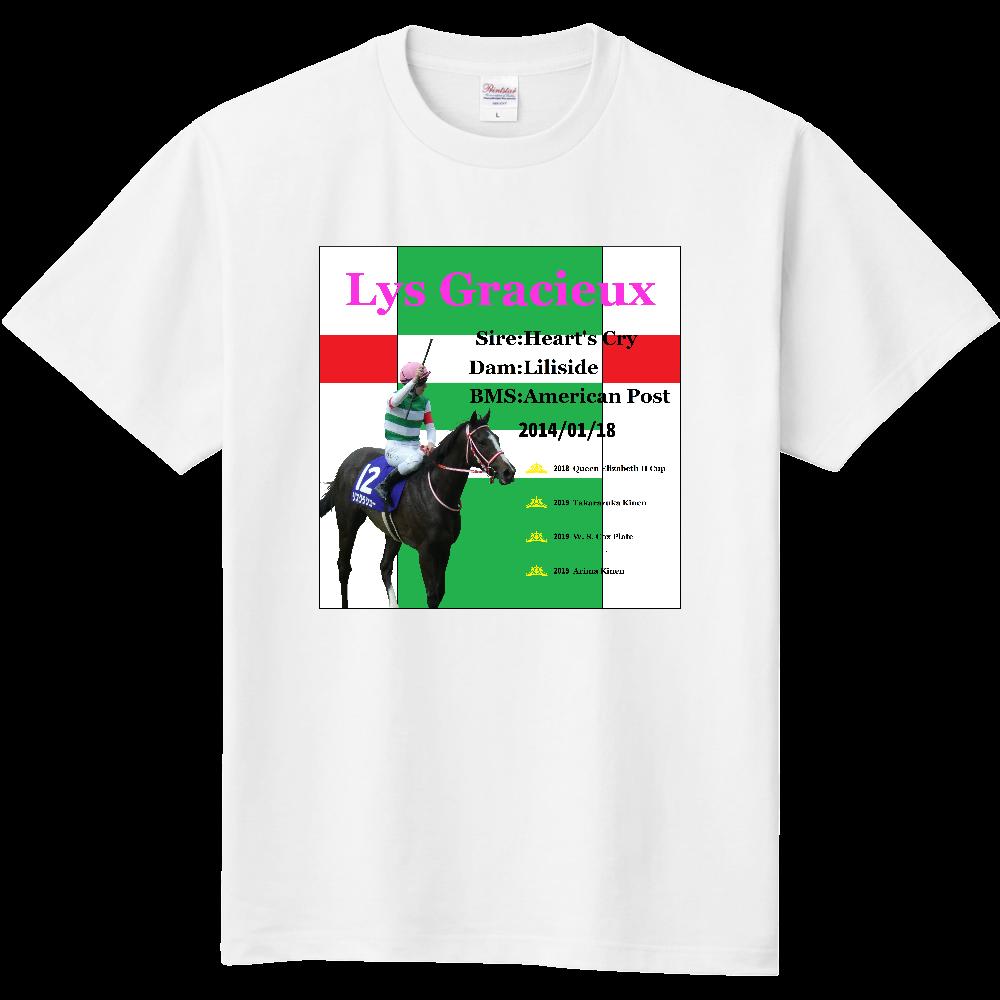 リスグラシュー フロント柄 Tシャツ 定番Tシャツ