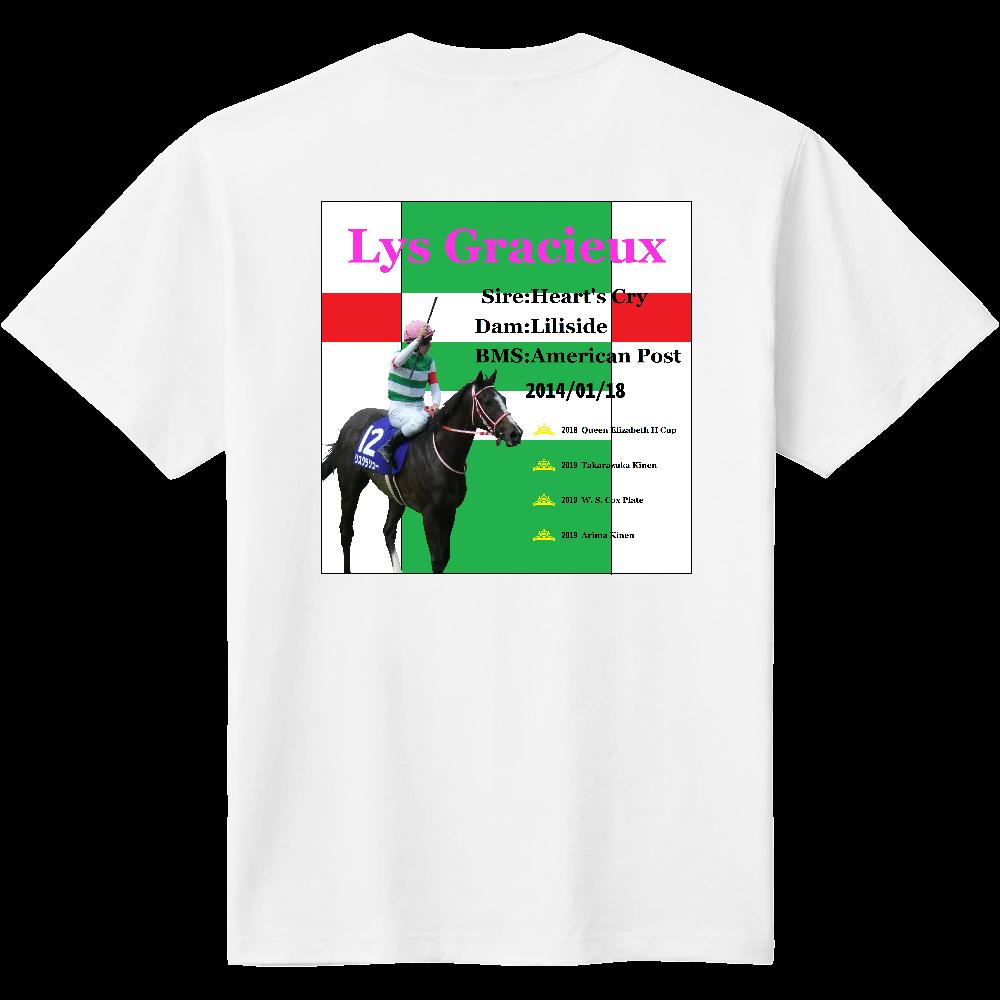 リスグラシュー 背面柄 Tシャツ 定番Tシャツ