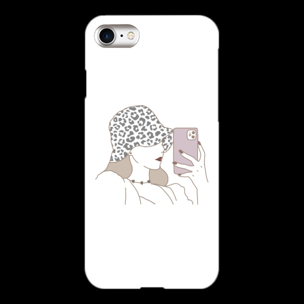 バケハ女子 iPhone8(白)