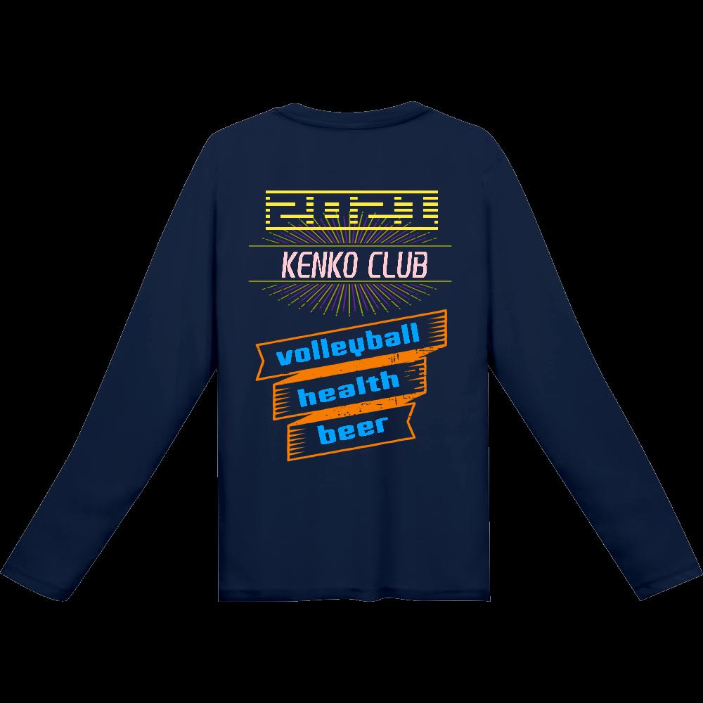 ケンクラ ロンT インターロック ドライ長袖Tシャツ