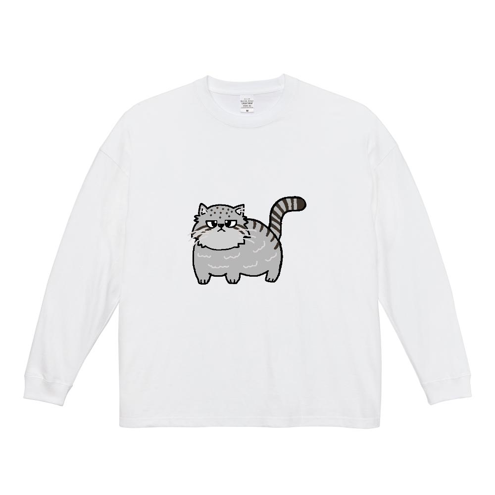 マヌルネコ ビッグシルエットロングスリーブTシャツ